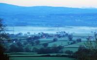 Kunde vakna med denna utsikt ner över dalen