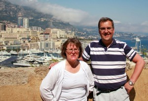 Ett 30-årigt bröllopspar i Monaco