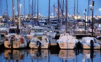 Kvällsbild från Nice